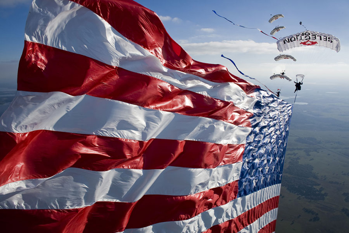 american flag show, charity show, veteran event, patriotic event, charity skydive, american flag, flag show