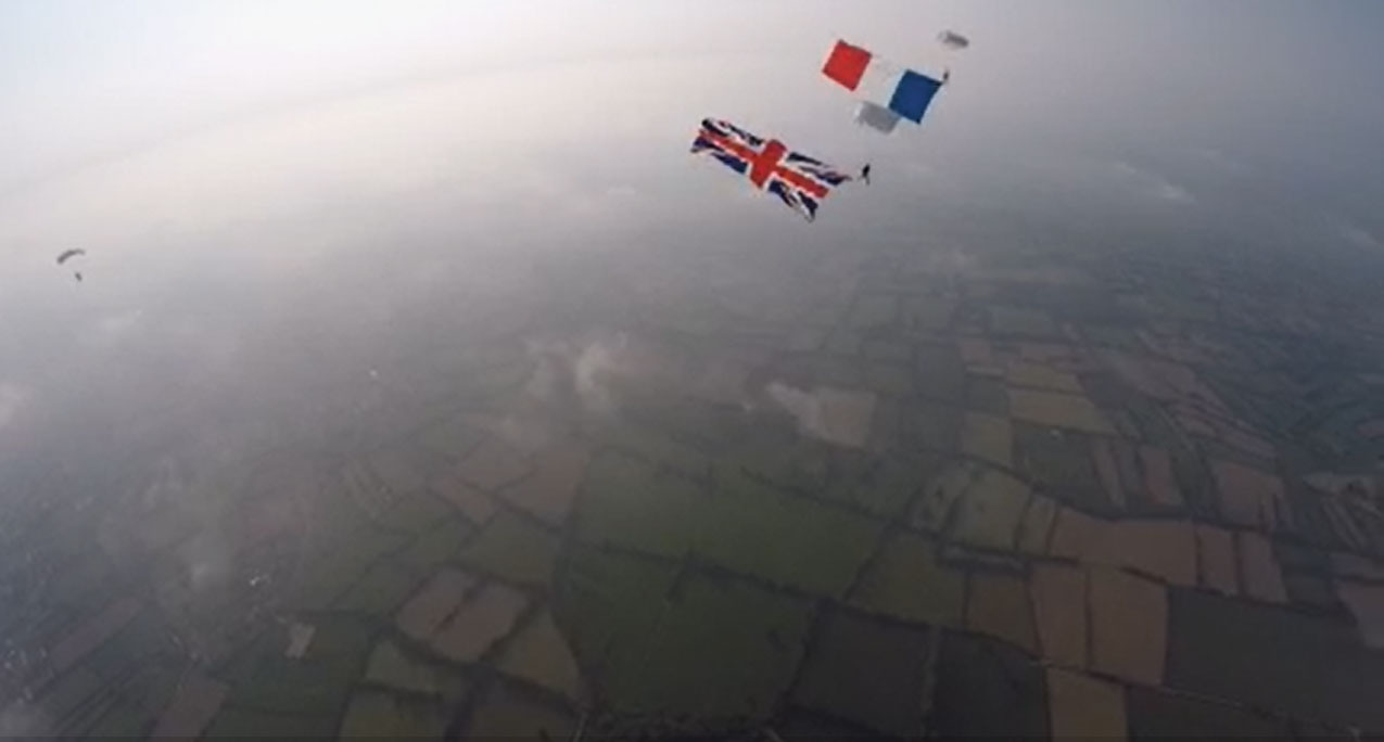 patriotic event, veteran event, charity event, american flag, skydivem d-day