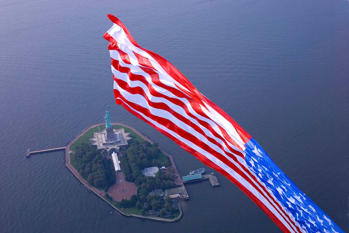 American Flag Show, Liberty, 9/11