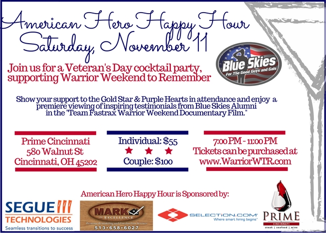 5×7 American Hero Happy Hour