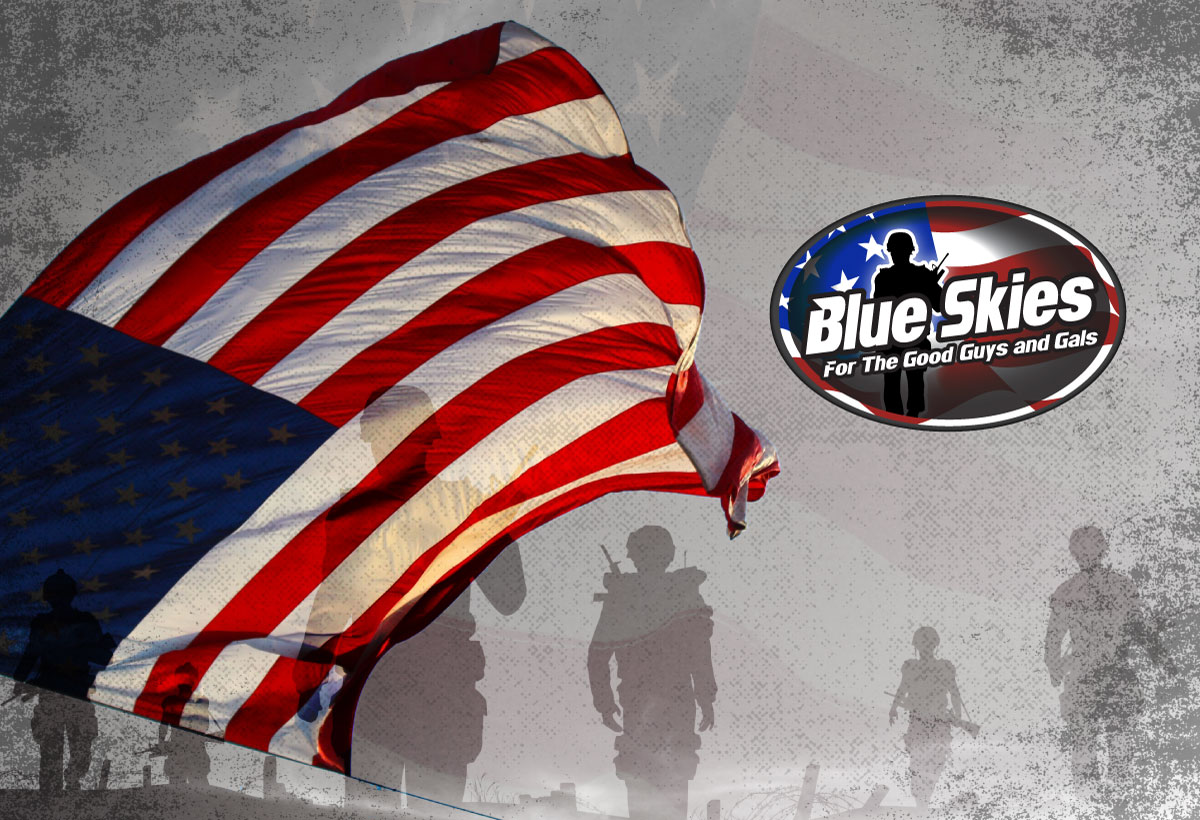 First Friday Event in July Benefits Blue Skies for the Good Guys and Gals Foundation