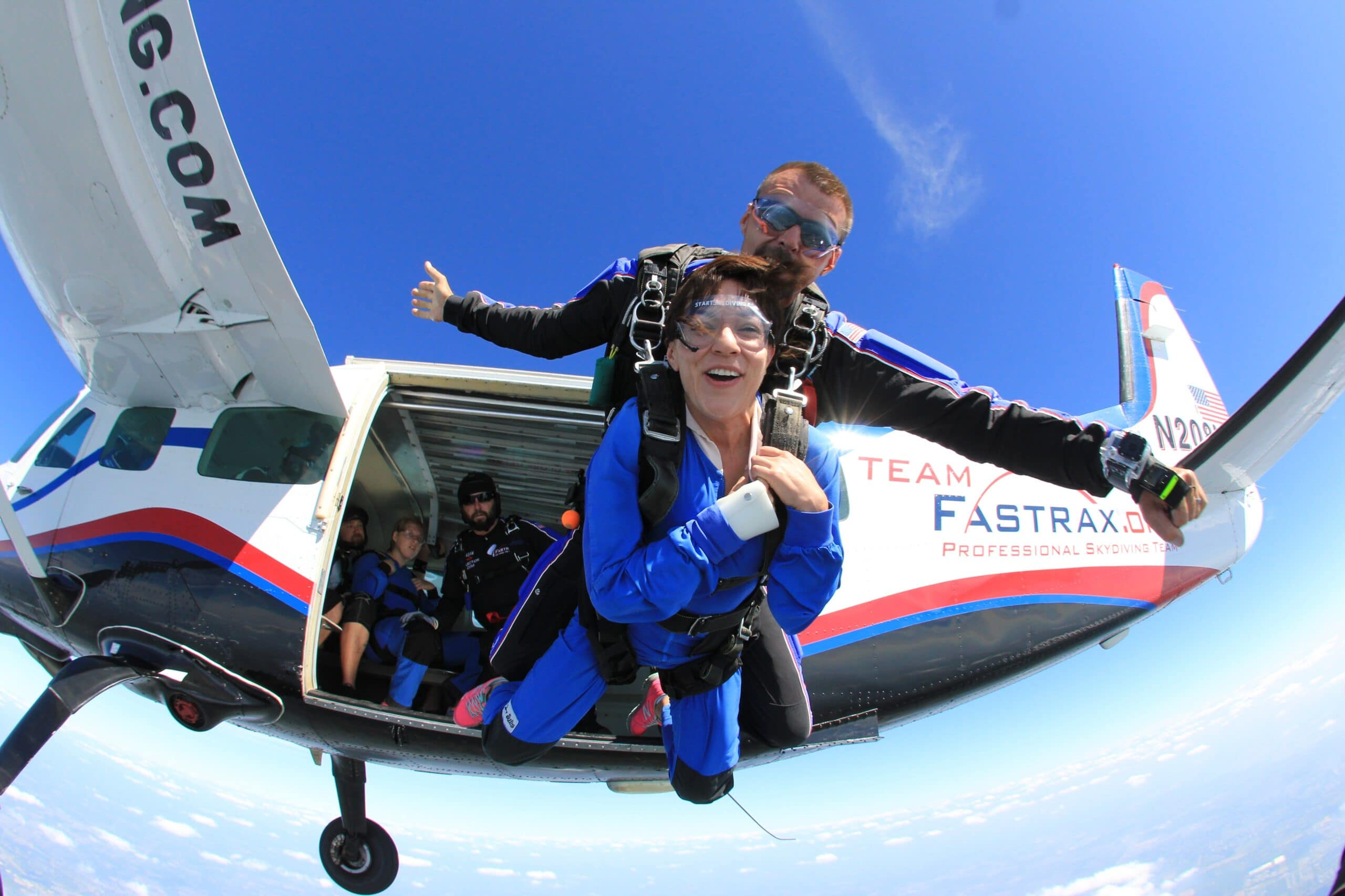 Warrior Weekend Tandem Skydive