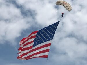 Team Fastrax Parachute Demonstration Team