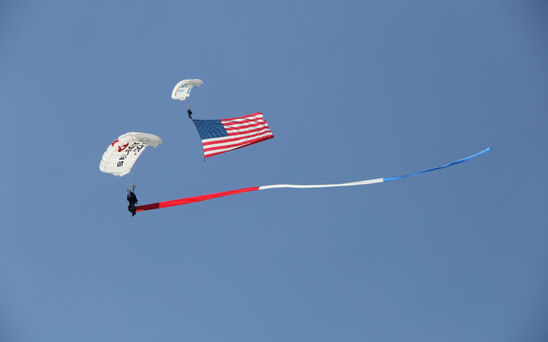 Team Fastrax to Perform Aerial Tribute Skydive at 9th Annual Rocky's Run for Freedom 5K