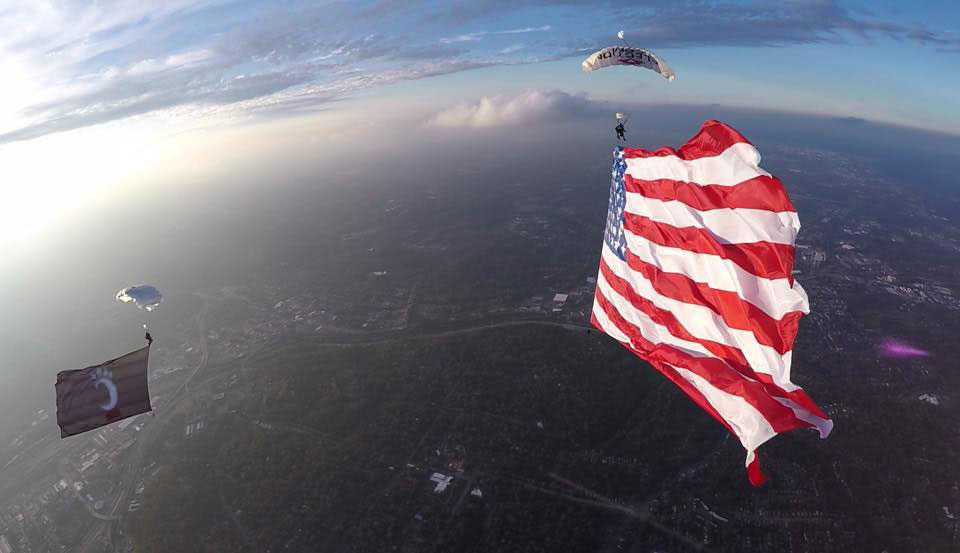 UC Bearcats Football Game To Include Special Skydive Start