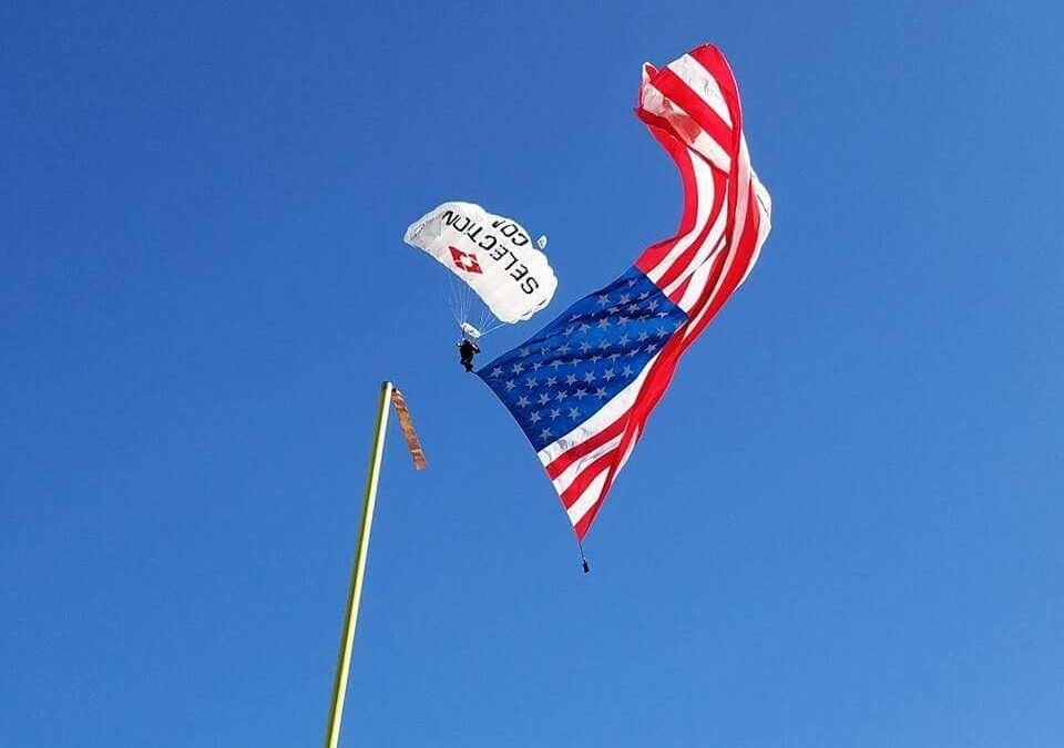 Navy vs UC Face-Off to Start with Patriotic Skydive