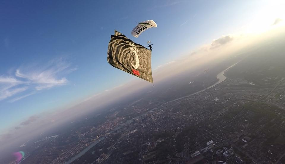 UC Bearcats Football AAC Opener to Include Special Skydive Start